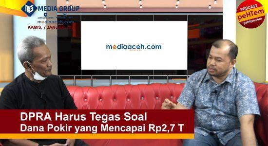DPRA Harus Tegas Soal Dana Pokir yang Mencapai Rp2,7 T