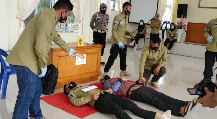 24 Adegan Diperagakan dalam Rekontruksi Pembunuhan di Bener Meriah