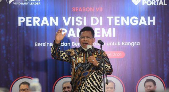 Aminullah Kembali Jadi Nominator Indonesia Visionary Leader 2021