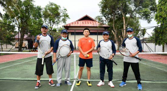 Aminullah Tenis Silaturahmi dengan Kepala BI Aceh