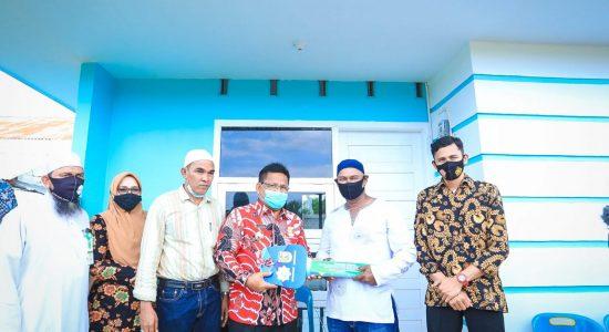 Wali Kota Kembali Serahkan 2 Rumah Bantuan Baitul Mal