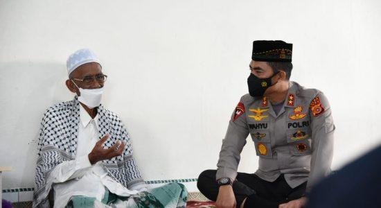 Kapolda Aceh Minta Dukungan Ulama Kharismatik