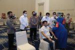 Polri Gelar Vaksinasi Covid-19 Untuk 2.282 Purnawirawan Polri
