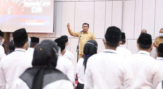 Kadisdik Aceh Minta Pegawai Tingkatkan Kejujuran dalam Bekerja