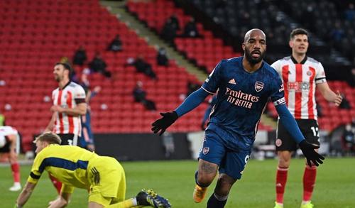Hasil Liga Inggris: Arsenal Sikat Sheffield