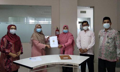 Disdukcapil Tandatangani PKS dengan 10 TK Swasta di Banda Aceh