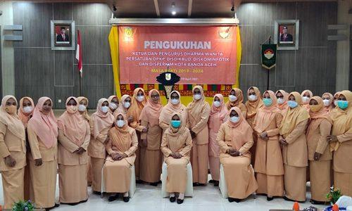 Cut Zahraini Saminan Ketua DWP Disdikbud Banda Aceh
