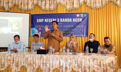 SMP Negeri 3 Banda Aceh Giatkan Gerakan Literasi Sekolah