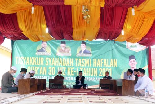 Dayah MUQ Pagar Air Gelar Tasyakkur Tasmi' dan Syahadah