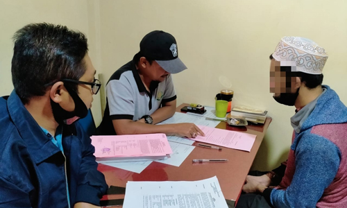 Polisi Serahkan Tersangka Pembunuh Darwinto ke JPU