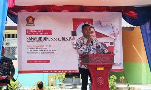 Wakil Ketua DPRA Diminta Perjuangkan Sarana dan Prasarana Peningkatan Mutu Pendidikan