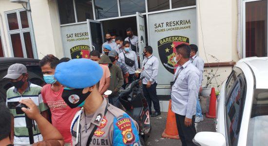 Polisi ungkap Preman-Pelaku pungli di Pasar inpres Lhokseumawe