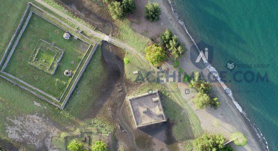 Sejarah Benteng Indra Patra Tinggal Kenangan