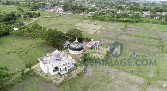 Monumen Kubah Tsunami Terbengkalai
