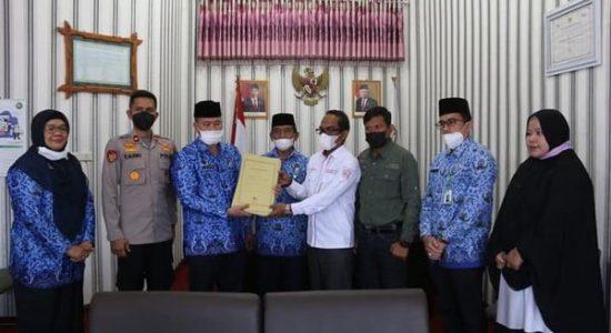 Serahkan 27 Berkas Penlok Aset Pemkab Bener Meriah Kepada BPN Wilayah Aceh