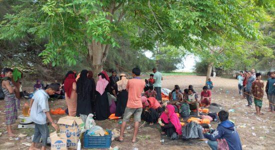 Puluhan Warga Rohingya Kembali Terdampar di Aceh Timur