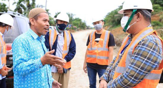 Masyarakat Lokop Serba Jadi Serahkan Tanah untuk Pembangunan Jalan Peureulak – Lokop