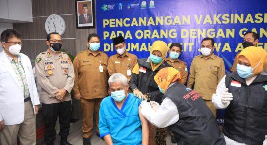 Pasien Gangguan Jiwa di RSJ Aceh Jalani Vaksinasi Covid-19