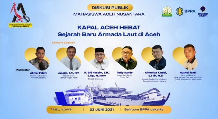 Dukung Mahasiswa, Diskusi KMP Aceh Hebat Tangkal Hoaks