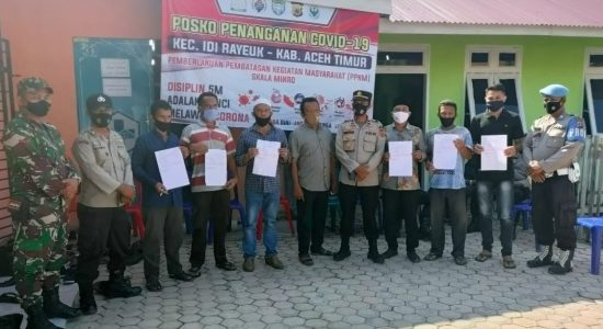 Aceh Timur Gelar Vaksinasi Gatis untuk Masyarakat