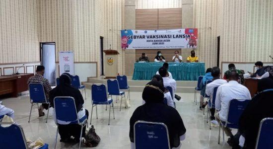 Juni ini Kecamatan Ulee Kareng Terjadwal Vaksinasi Tiap Gampong