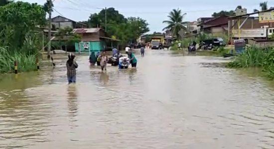 Akibat Hujan Lebat Lima Kecamatan di Aceh Selatan Terendam Banjir