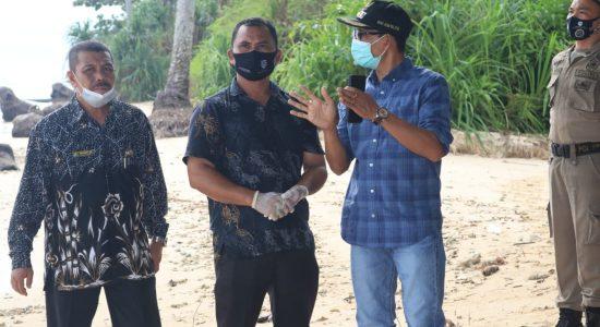 Bupati Amran Upayakan Abrasi di Gampong Sawang Indah Teratasi Tahun Ini