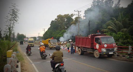 Fauzi Yusuf Serius Mengurus Sampah Kota