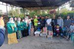 Peduli Korban Kebakaran Kala Tenang, Pemuda Bale Salurkan Bantuan