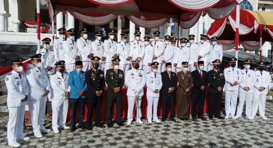 Upacara HUT RI ke-76 Pemkab Aceh Utara Berlangsung Khidmat