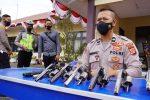 Propam Polres Bener Meriah Amankan Delapan Pucuk Senjata Api