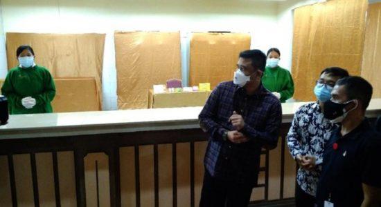 Bekas Hotel di Medan Jadi Pusat Isolasi Pasien Covid 19, Bobby Pastikan Gratis