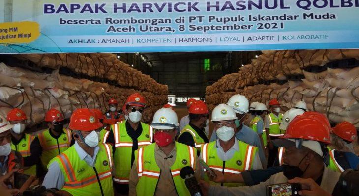 Wakil Menteri Pertanian RI Berkunjung Ke PT PIM