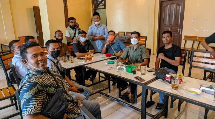 Wartawan Lhoksukon Bentuk Forum Silaturahmi, Fahril Zubir Terpilih Menjadi Ketua Umum