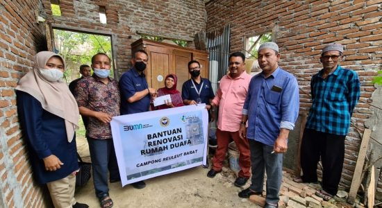 PIM Bantu Kaum Dhuafa-Petani dan Tempat Ibadah di Aceh Utara
