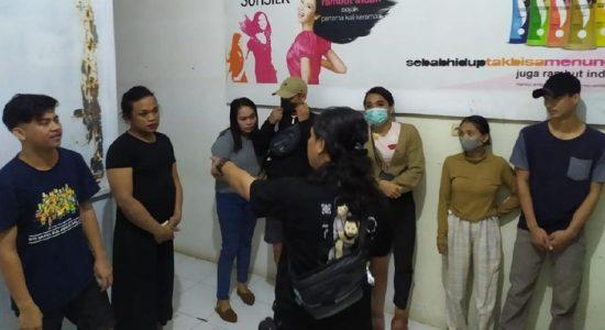 Gerebek Sarang Prostitusi Online, Polisi Amankan Pasangan Sejenis