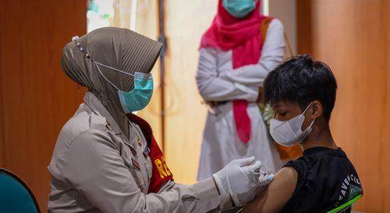 Hari Ini, Sebanyak 243 Orang Disuntik Vaksin Covid-19 di BACH