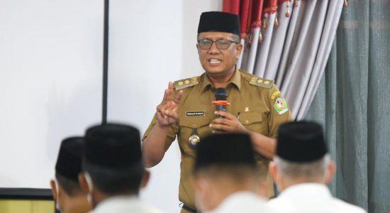 Sambut Sosialisasi Sekda Aceh, Wabup Pidie Ajak Pimpinan Dayah Sukseskan Vaksinasi Santri