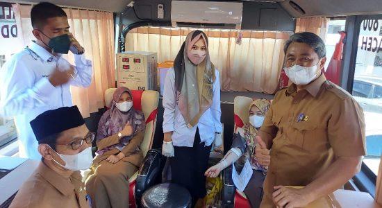 Dalam Sehari, 84 Kantong Darah Terkumpul dari ASN Dinas Perkim Aceh