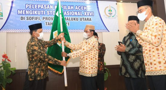 Dilepas Secara Resmi, Kontingen STQH Aceh Diharapkan Harumkan Nama Daerah