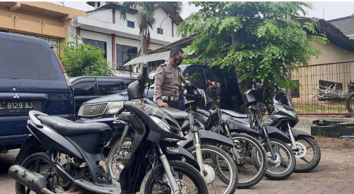 Polisi Bubarkan Aksi Balap Liar di Ulee Lheue