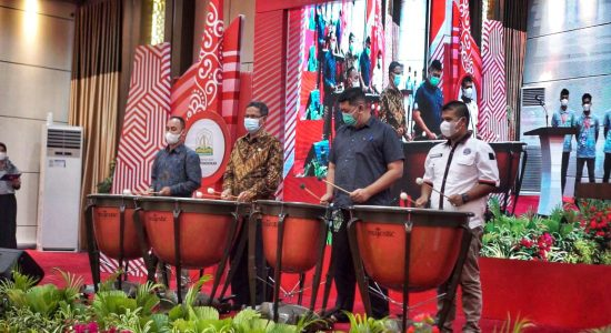 Gelar Lomba Aceh Marching Band Championship